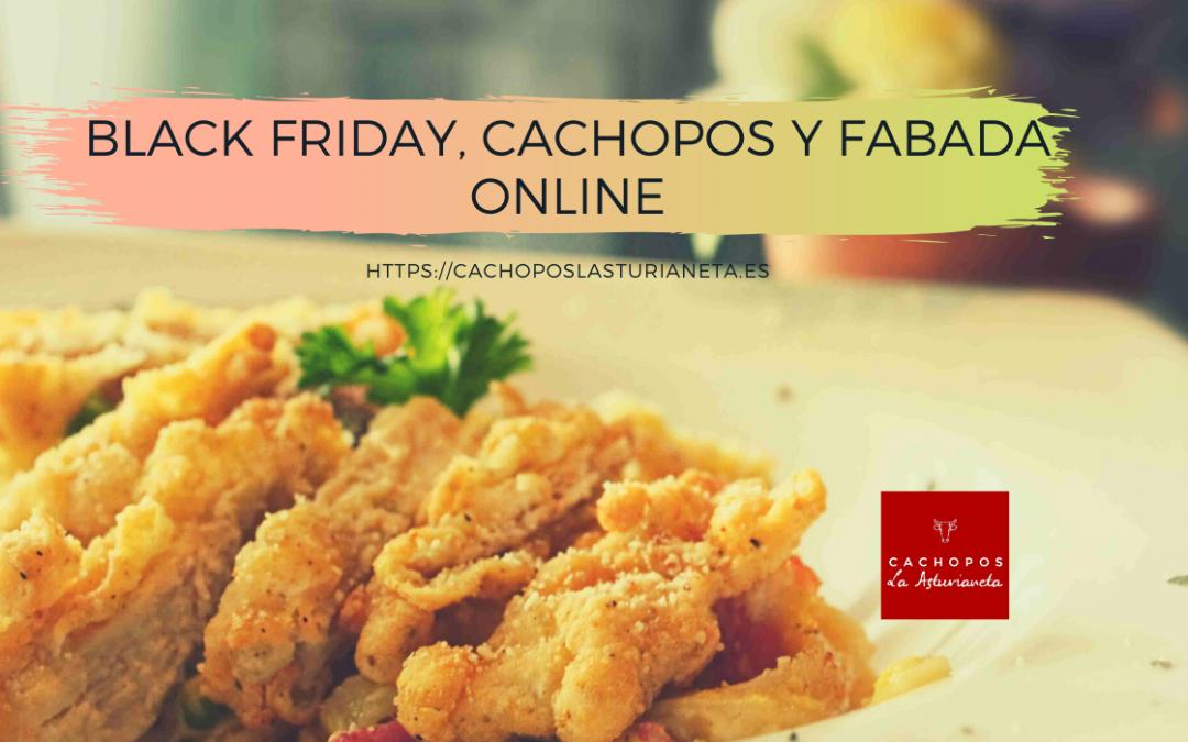 Black Friday 2019, cachopos y fabada online
